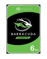 Seagate 6 TB Barracuda 3.5 inch Serial ATA III 7200 rpm