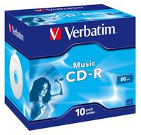 CD-R/700MB 80Min JC 10pk Audio