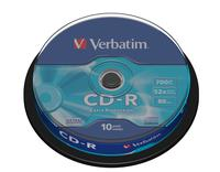 CD-R/700MB 80Min 52xspd Spindle 10pk (150763)