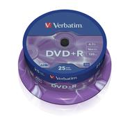 DVD+R/4.7GB 16x AdvAZO Spdl 25pk
