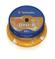 DVD-R/4.7GB 16xspd ADVANCEDAZO 25Spindle