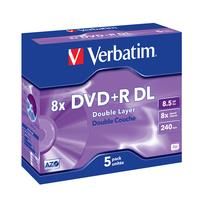 Verbatim DVD+R 8,5GB DL 8x JC (5)