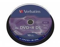 DVD-R/8.5GB 8x DoubleLAYER 5pk matt silv