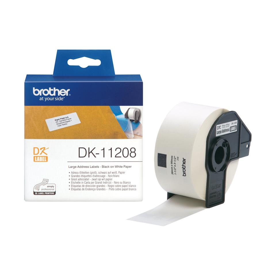 BROTHER ADDRESSLABEL DK11208