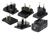 HONEYWELL Power supply, USB, 5 V, 2 A, incl.: Adapter plugs (US, EU, UK, ANZ, IND)