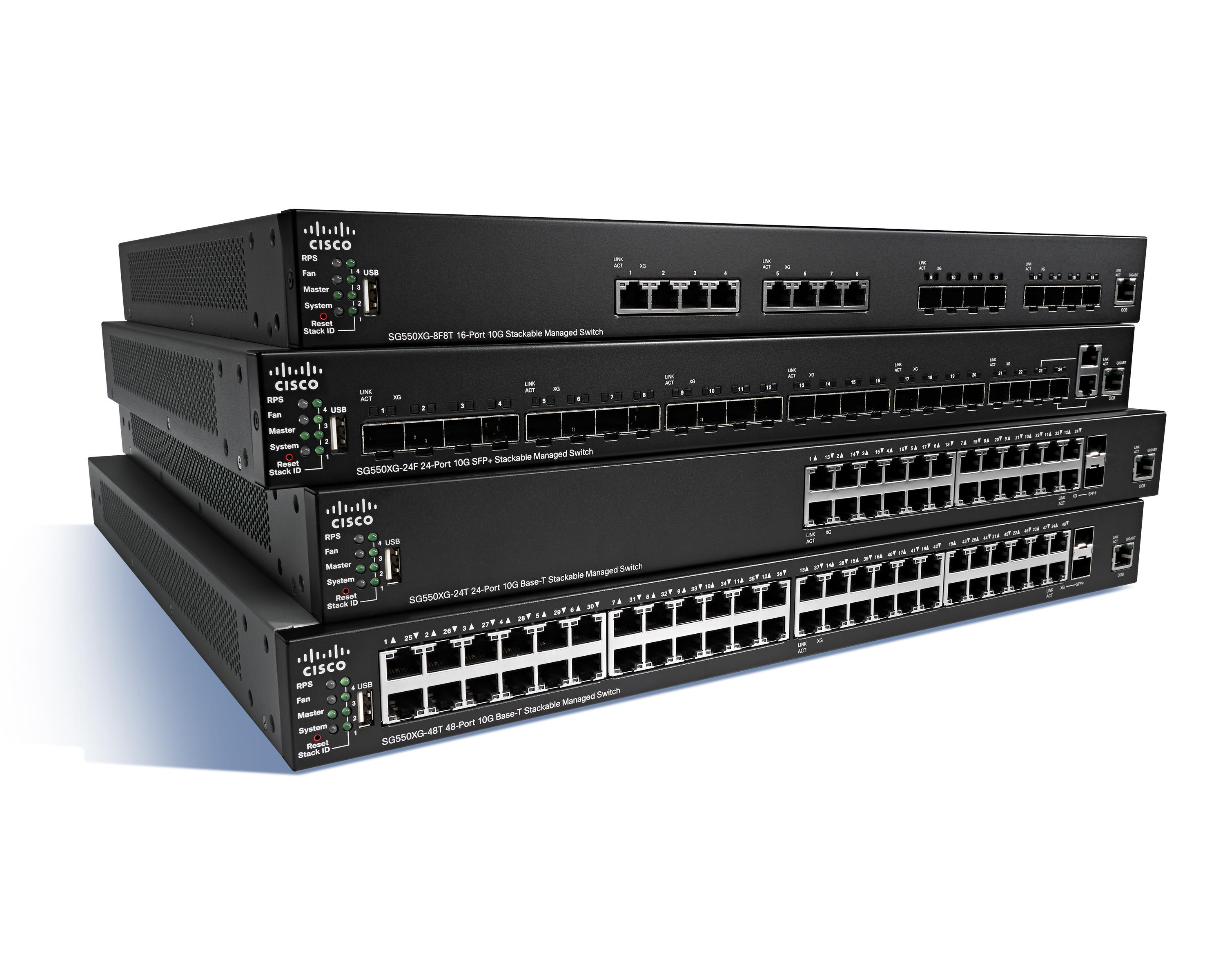 Cisco SG550XG-24F switch