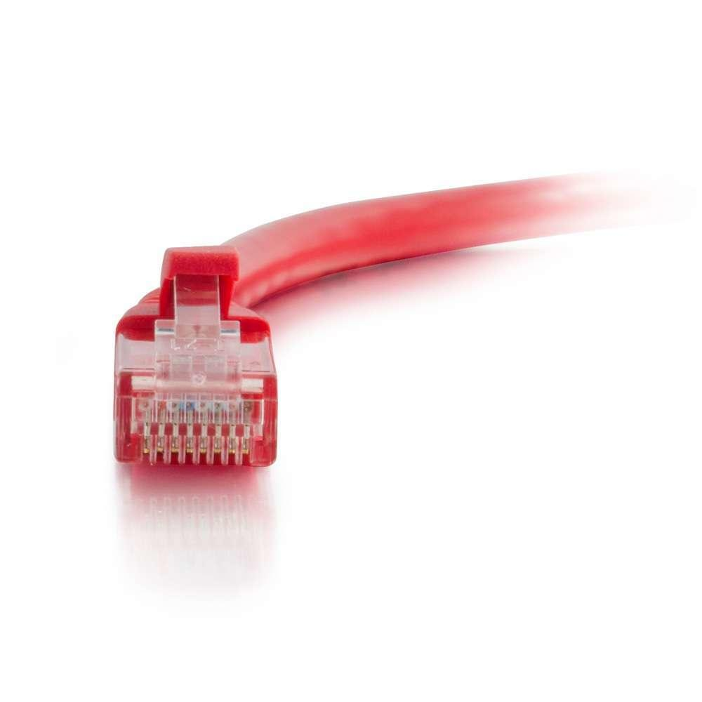 Cables To Go 0,5 meter Cat6 U/UTP netwerkkabel Rood