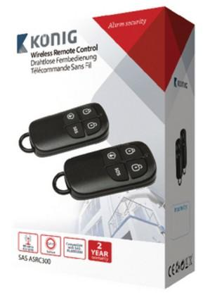Wireless remote control for SAS-ALARM-300 series