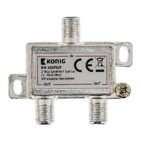 2-way satellite F splitter 5 - 2400 MHz