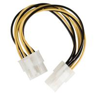Internal power adapter cable EPS 8-pin - P4 female 0.15 m multicolour
