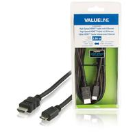 High Speed HDMI cable with Ethernet HDMI connector - HDMI mini connector 2.00 m black
