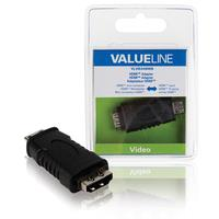HDMI adapter HDMI mini connector - HDMI input black