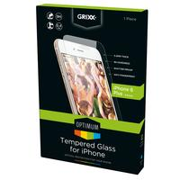 Grixx Optimum Glass iPhone 6 Plus Tempered 0.33 mm incl. accessoires
