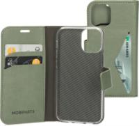 Mobiparts Classic Wallet case voor Apple iPhone 12 mini - Stone Green