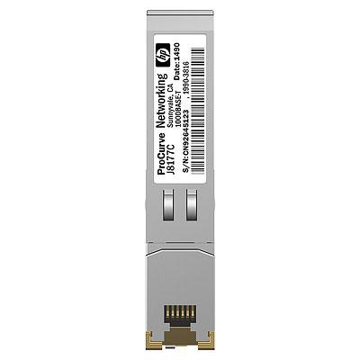 HP NETWORKING X120 1G SFP RJ45 T TRANSCEIVER