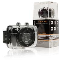 "HD Action Camera 720p 2"" Touch Screen Black"