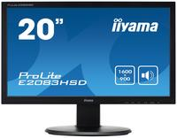 iiyama ProLite E2083HSD-B1 19.5 inch LED monitor - Speakers