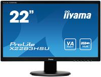 iiyama ProLite X2283HSU-B1DP 21.5 inch LED monitor - Speakers