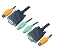 KVM combination cable, VGA/PS/2