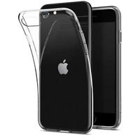Spigen Crystal Flex case voor Apple iPhone SE (2020) - Transparant
