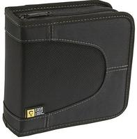 Nylon 32 Capacity CD Wallet, black