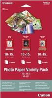Canon VP-101 photo paper variety pack 10x15cm