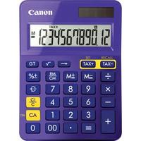 Canon LS-123K calculator paars