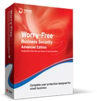 Worry-Free Business Security v9.x, Advanced Bundle, Multi-Language: Renewal, Normal, 11-25 User License,01 months