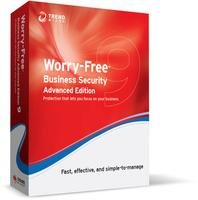 Worry-Free Business Security v9.x, Advanced Bundle, Multi-Language: Renewal, Normal, 26-50 User License,24 months