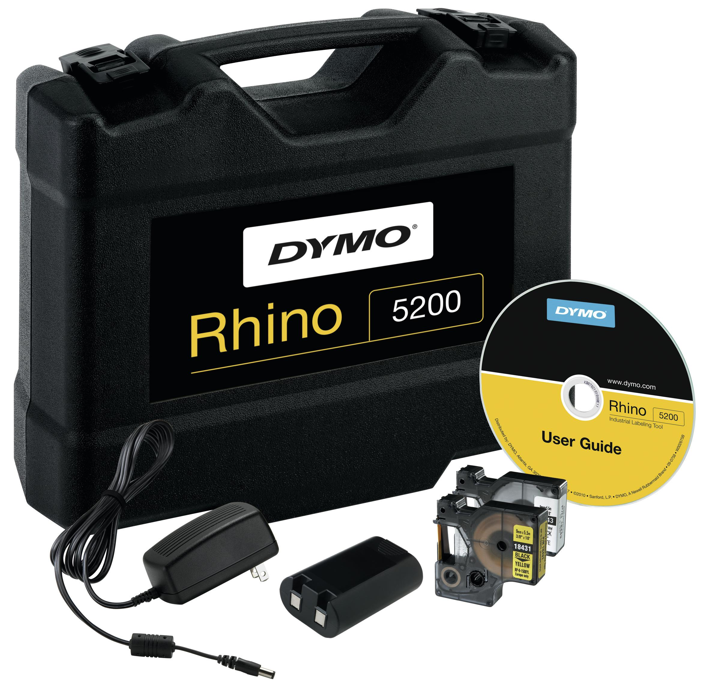 Dymo Labelprinter Rhino 5200 Kit