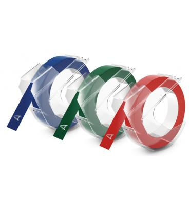 Dymo Tape 9mm x 3m Red