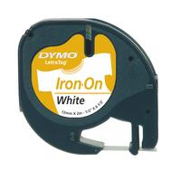 Dymo Iron-on Tape/White 12mx2mm f LetraTag