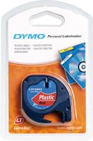 Dymo Tape/Plastic Red 12mx4mm f LetraTag