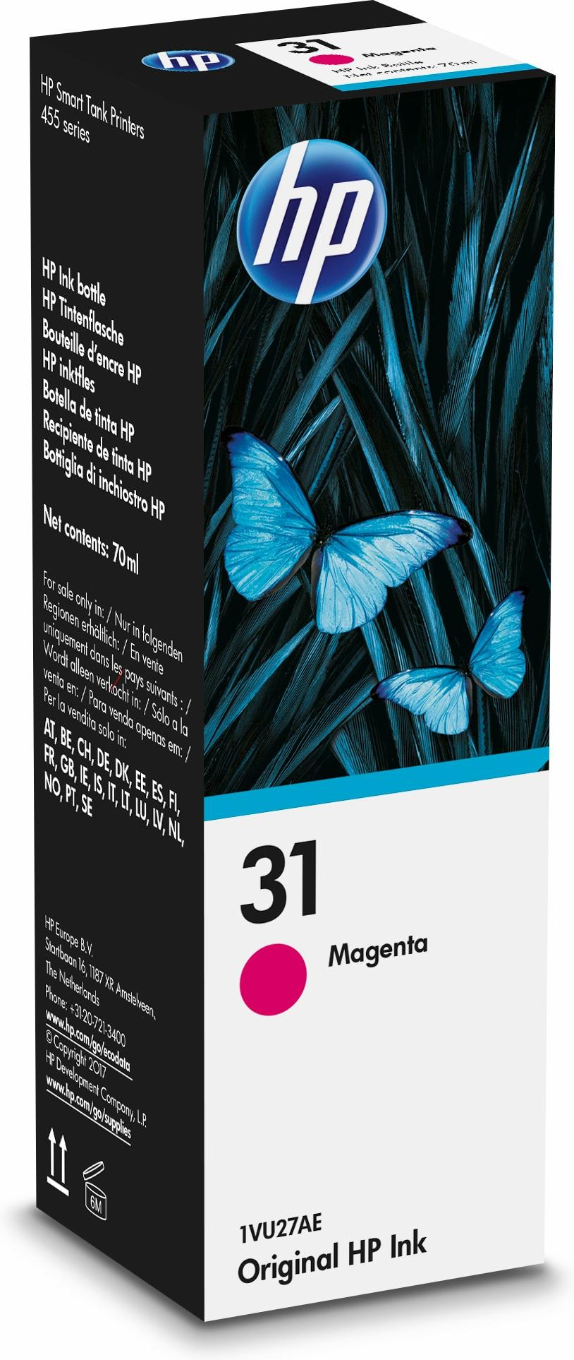 31 70-ml Magenta Original Ink Bottle