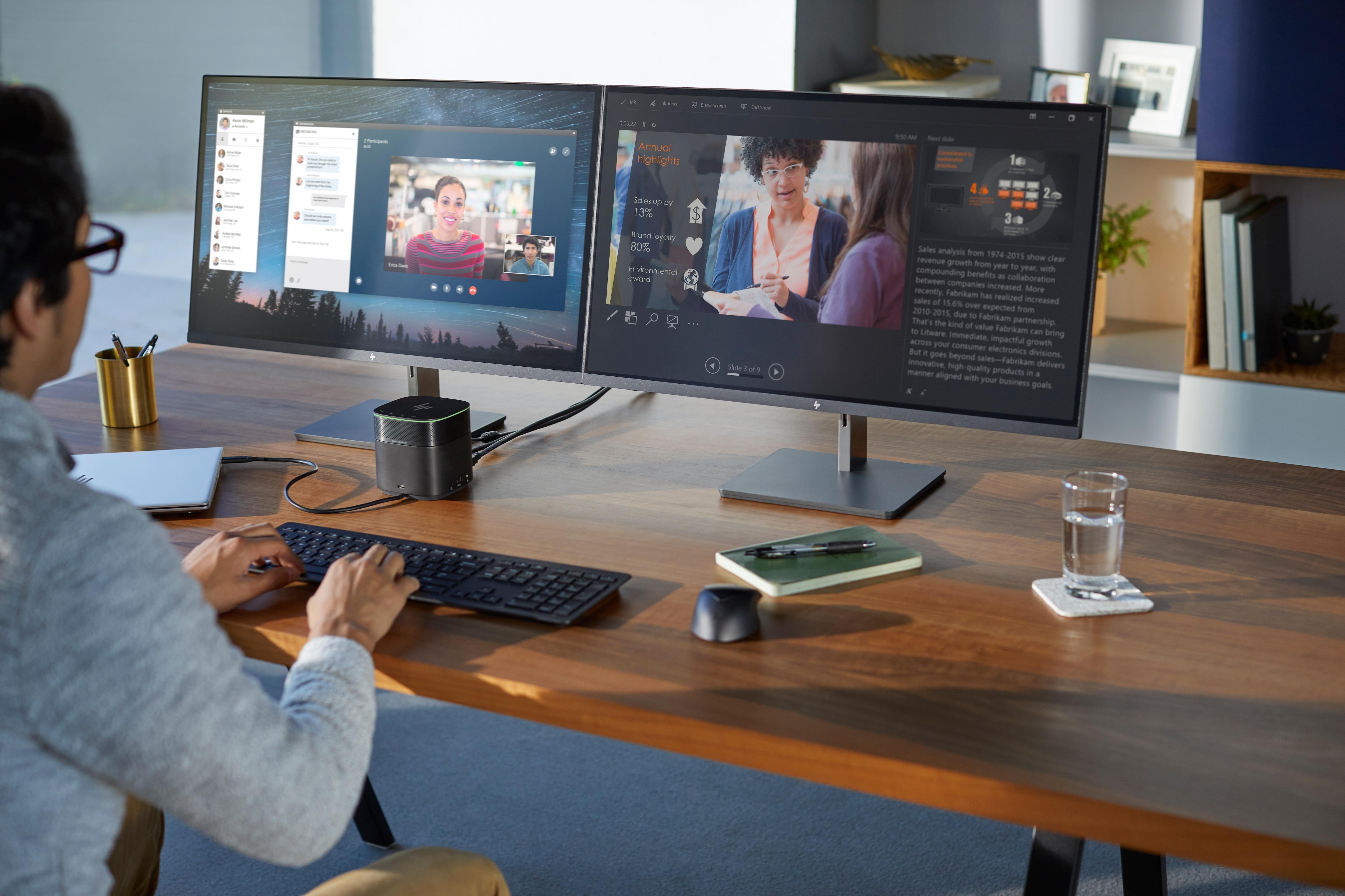 Buyitdirect HP Wireless Collaboration Draadloos QWERTY toetsenbord