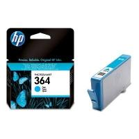 HP 364 originele ink cartridge cyaan standard capacity 3ml 300 pagina s 1-pack met Vivera inkt