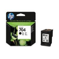 HP 704 inktcartridge zwart standard capacity 480 paginas