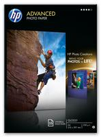 HP Advanced Glossy Photo Paper 25 sheets A4