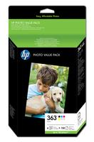 HP 363 SERIES PHOTO PACK 10X15CM 150SHEETS BLISTER
