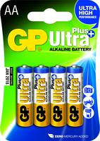 GP Batterij alkaline AA/LR6 1.5 V Ultra Plus 4-blister