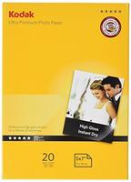 Kodak Photo Paper Ultra Premium 13 x 18 cm Glossy 20 pcs