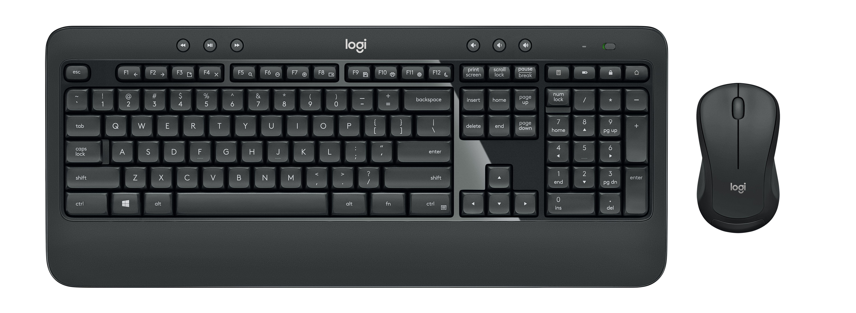 Buyitdirect Logitech MK540 Draadloos QWERTY toetsenbord met muis