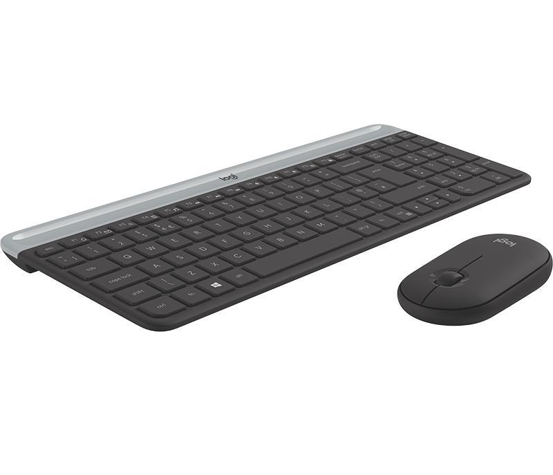 Buyitdirect Logitech MK470 Draadloos QWERTY toetsenbord met muis