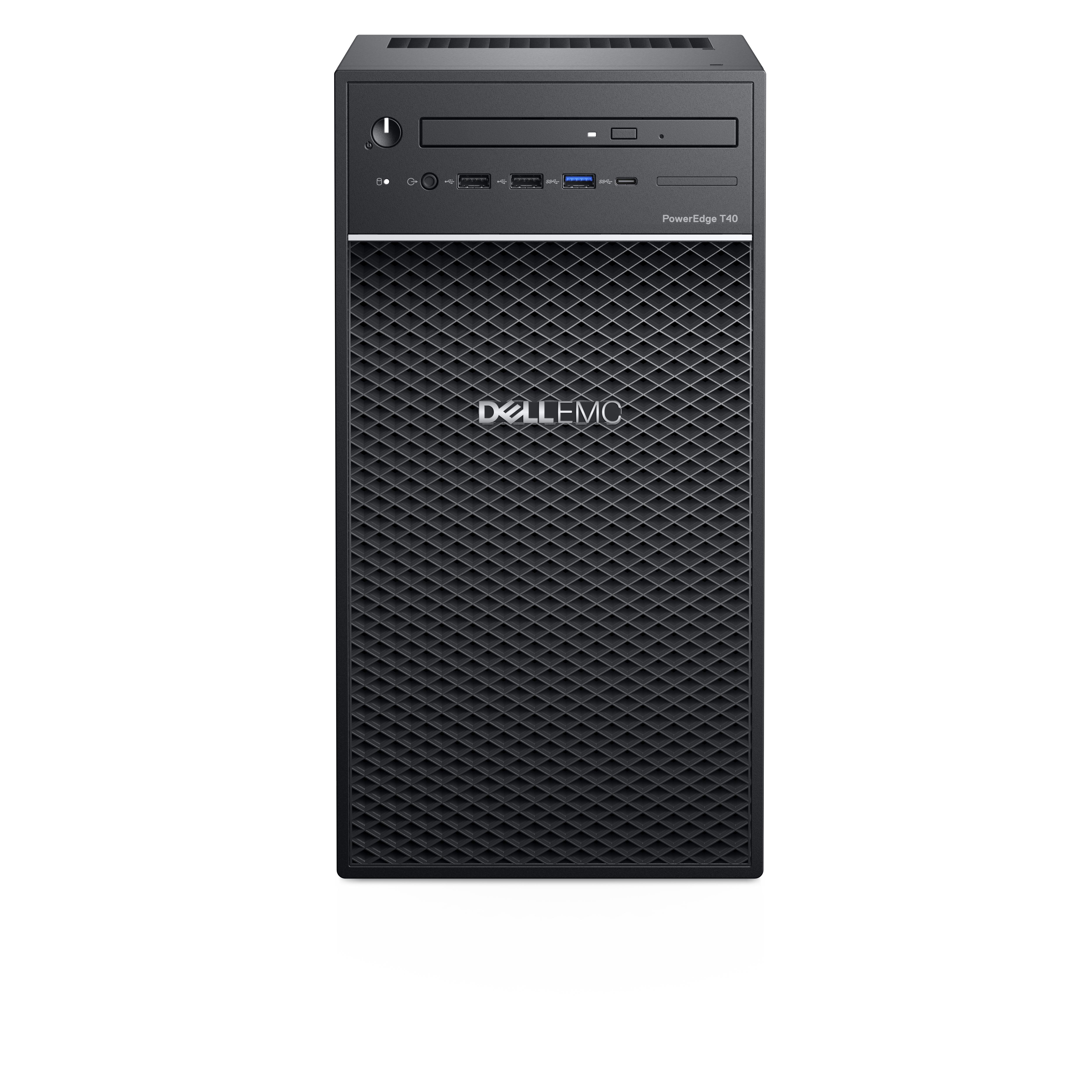 Dell PowerEdge T40 1x Intel Xeon E E-2224G 8GB 4LFF