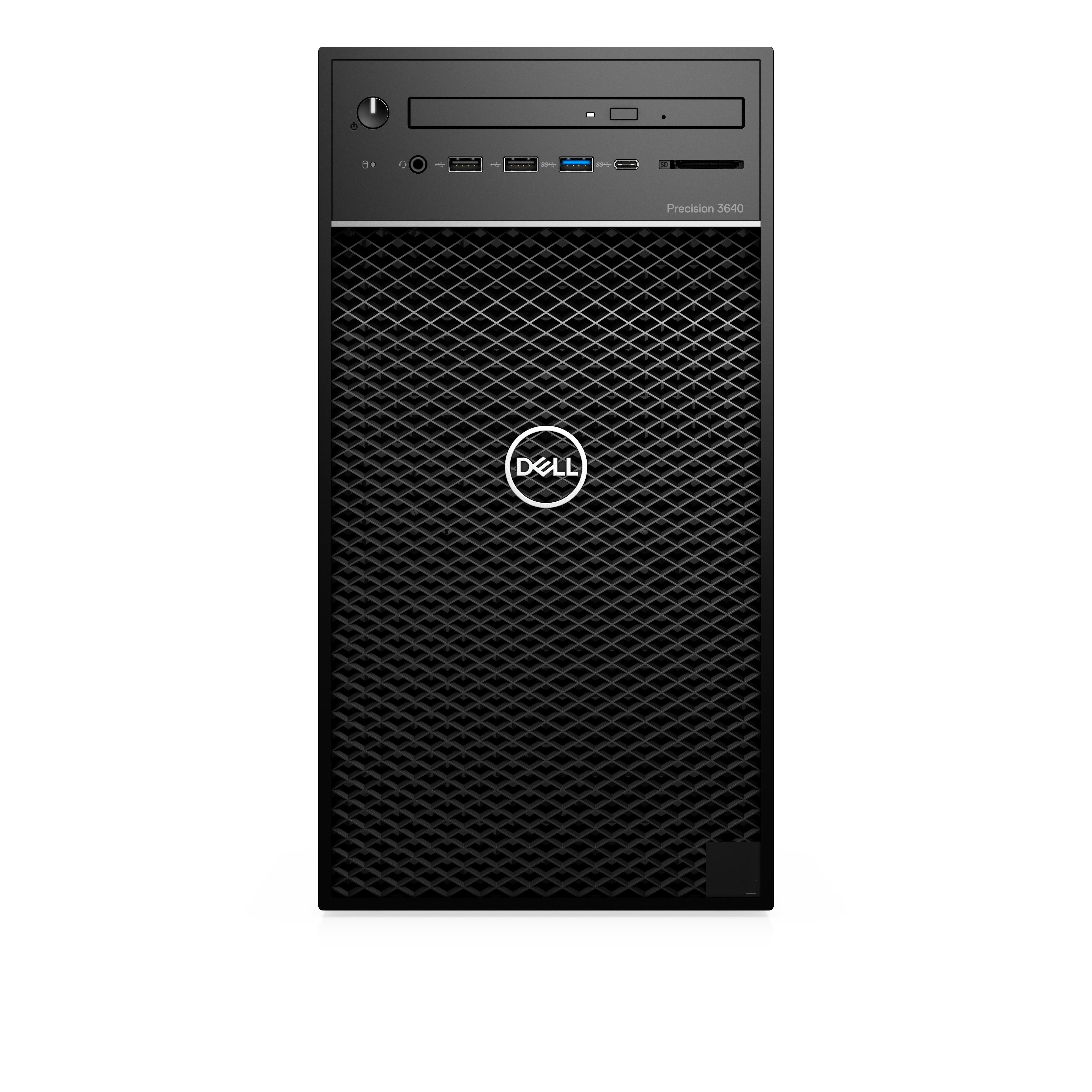 Dell Precision 3640 i7 8GB 256GB DVD-RW Win10Pro