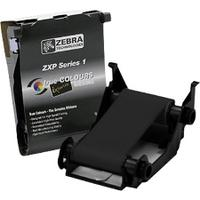 ZEBRA Ribbon, black monochrome, for up to 1000 plastic cards, fits for Zebra ZXP Series 1