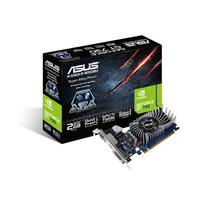 Asus GT730-2GD5-BRK GeForce GT 730 Graphic Card - 902 MHz Core - 2 GB GDDR5 - PCI Express 2.0 - Low-profile - 5010 MHz Memory Clock - 64 bit Bus Width - 2560 x 1600 - Fan Cooler - DirectX 11.0 - 1 x HDMI - 1 x VGA - 1 x Total Number of DVI