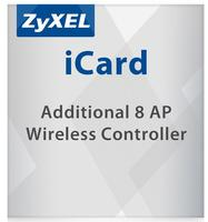 LIC-EAP E-iCard 8 AP license for Unified Security Gateway and VPN Firewall (allUSG/ZyWALL products with AP Controller functions)