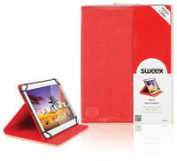 "Tablet Folio Case 8"" Red"