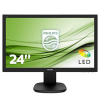 Philips 243S5LHMB 23.6 inch LED monitor - Speakers